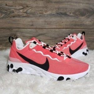 New Nike React Element Ember Glow Running  Shoes